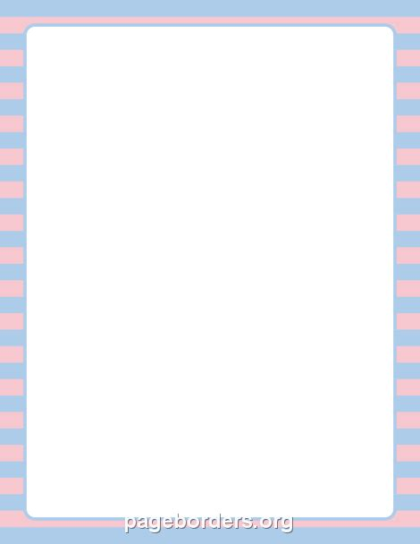 printable blue striped border use the border in printable pink and blue striped border use the border in microsoft word or other programs for