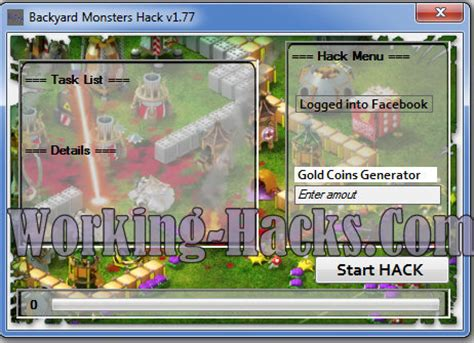 backyard monster hack backyard monsters hack v1 77 free gold coins