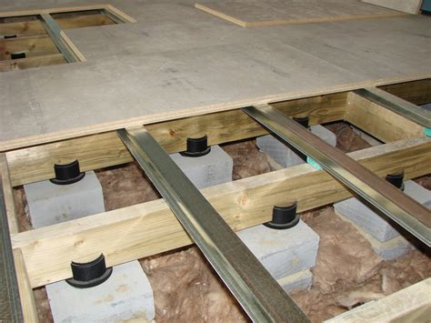 Floating Floor Concrete Slab by Acoustic Floating Floors Overview Acoustic Floating