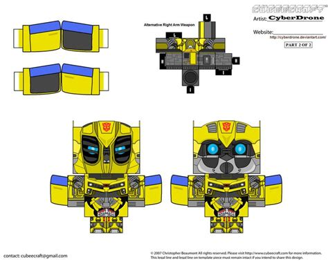 How To Make A Paper Transformer Bumblebee - 58 best cumple bumblebee transformers images on