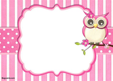 printable owl holding a letter card template large add blank space html phpsourcecode net