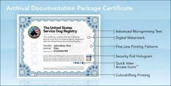 service dog certificate template shop service dog certificate template