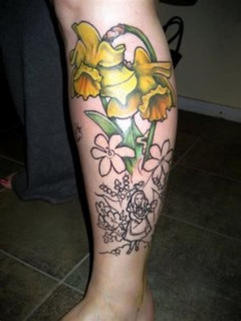 daffodil tattoos designs 30 lovely and peaceful daffodil designs