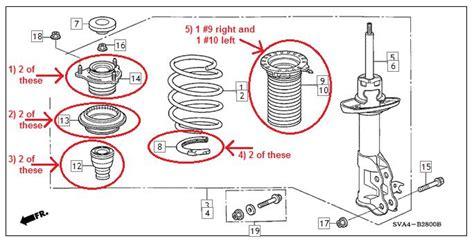 honda civic suspension diagram toyota qualis suspension
