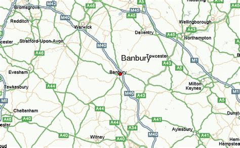banbury map uk banbury location guide