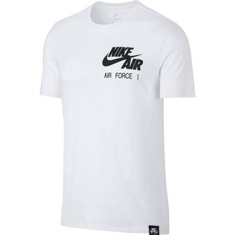 T Shirt Nike Basket t shirt s nike sportswear air 1 t shirt white