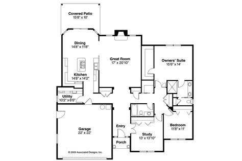 floor plans images traditional house plans porterville 30 695 associated