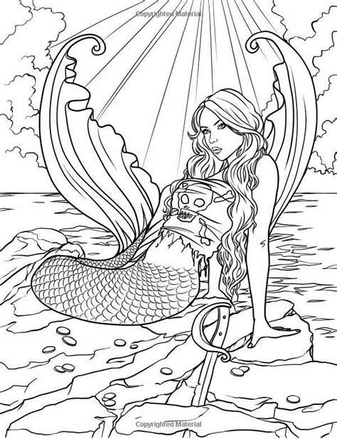 92 Kleurplaat Zeemeermin Realistic Mermaid Coloring