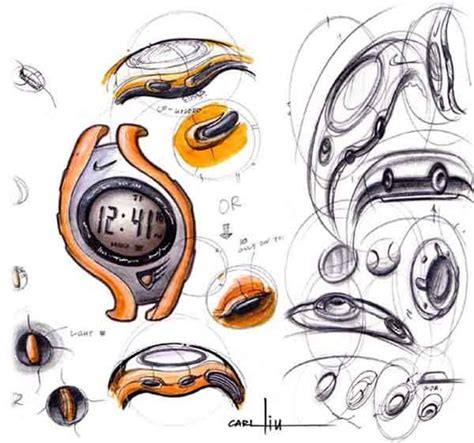 drawing for product designers 1856697436 nike ideation watch sketch sketching product design sketches product sketch and