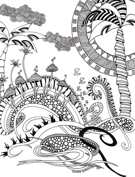 zentangle pattern fungees 199 best images about adult colouring mushrooms