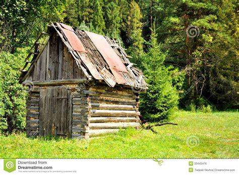 oude houten hut stock foto afbeelding bestaande uit