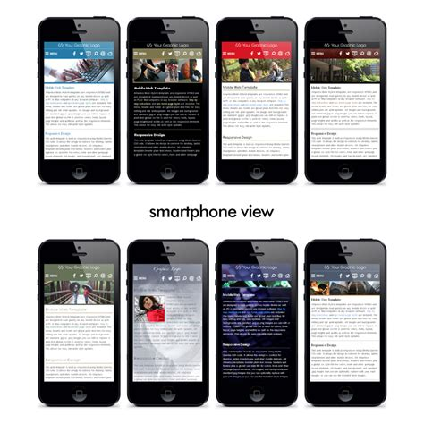 templates for mobile website mobi hybrid 174 html5 css3 jade mobile web template