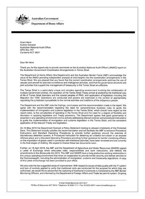 coordination arrangements australian government