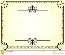 template for a certificate new certificate background design vector free