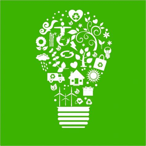 how to recycle lights recycle light bulb free vector in adobe illustrator ai