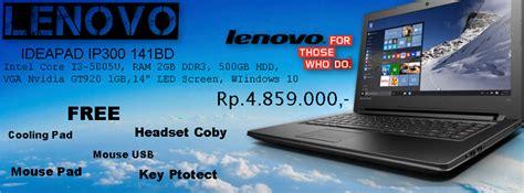 Harga Lenovo Ip300 laptop lenovo ideapad ip300 141bd murah mudah
