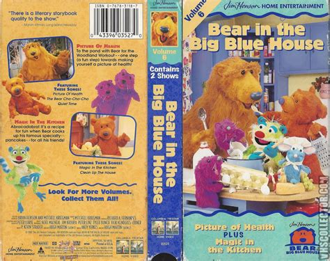 the bear inthe big blue house bear in the big blue house vhs pictures to pin on pinterest pinsdaddy