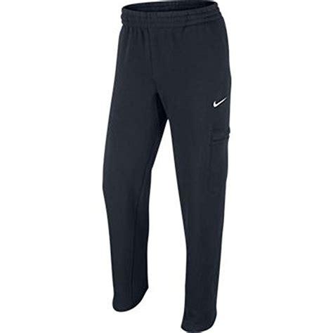 Small Wet Bars Nike Club Cargo Athletic Sweatpants Pants Black