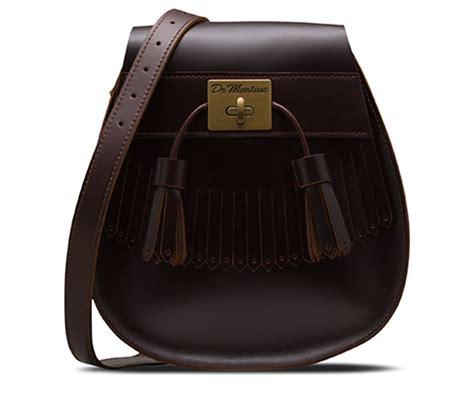 Martin Tas Broun brando leather tassel saddle bag bags satchels