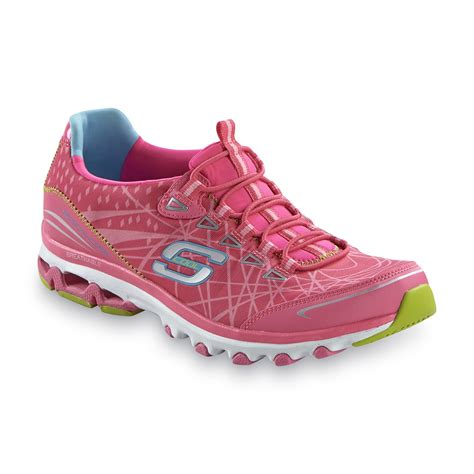 neon athletic shoes skechers s skech cool neon pink athletic shoes