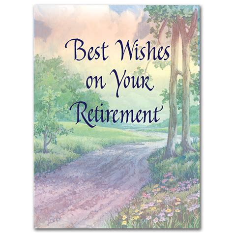 retirement greeting card template best wishes on your retirement retirement card