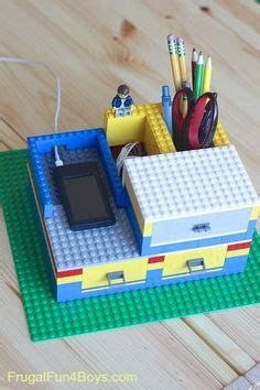 Lego Desk Organizer Lego Mobile Phone Dock Minifigure Charger Holder Jaden Made Me The Dock Not Quite This Cool