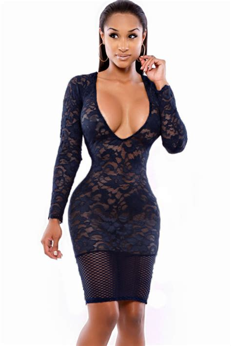 name of black women in blue dress in viagra commercial sexy women v neck blue lace club dress clubdressesdepot