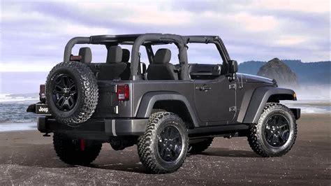 jeep wrangler models 2015 model jeep wrangler willys wheeler edition youtube