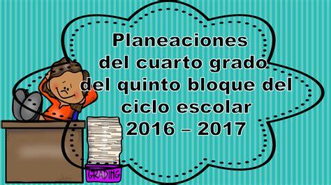 del sexto grado del tercer bloque del ciclo escolar 2014 2015 material didactico cuarto bloque cuarto grado