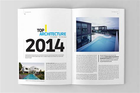 17 free magazine indesign template for editorial project architecture magazine template on behance
