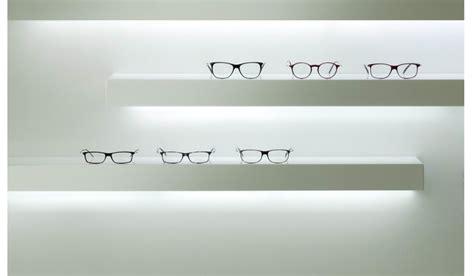 mensole illuminate a led espositori negozi ottica images