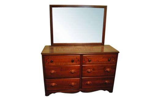 55 Inch Wide Dresser 6 Drawer Chest With Mirror