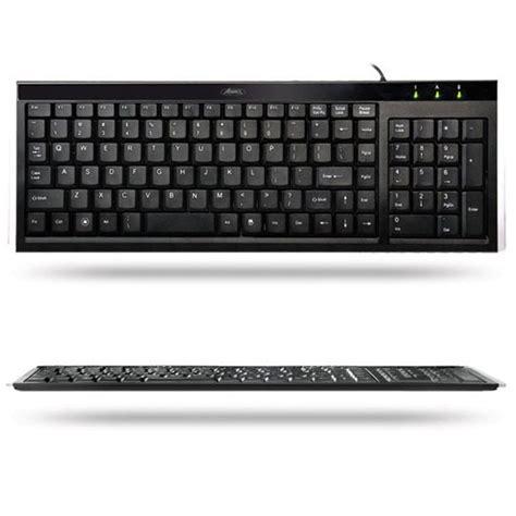Keyboard Komputer Advance advance flat keyboard clavier pc advance sur ldlc