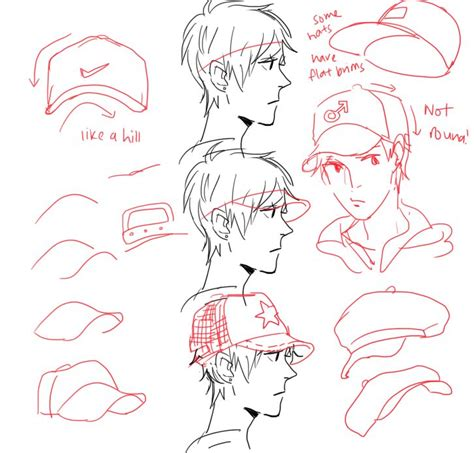 doodle cat how to make a hat step by step tutorial on how to draw a baseball cap for a