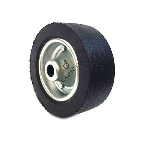 rubber st wheel wide wheel 200 mm diameter with 25 mm bearings