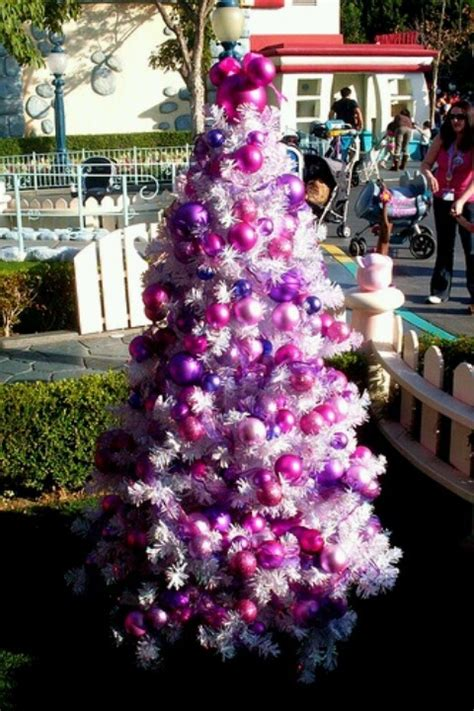 Minnie Mouse Tree Decorations by Minnie Mouse Pink Purple Tree Disney
