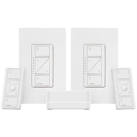 lutron caseta fan control lutron caseta wireless smart lighting dimmer kit p bdg