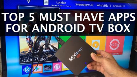 best apps for android tv top 5 must apps for your android tv box 2016 funnydog tv