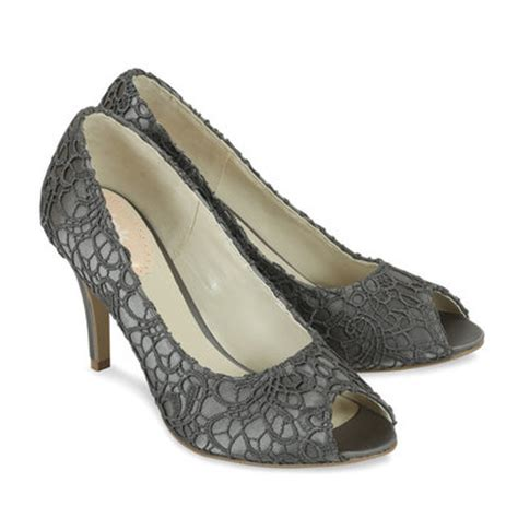 grey bridesmaid shoes grey lace shoes cosmos by paradox perdita s wedding shoes