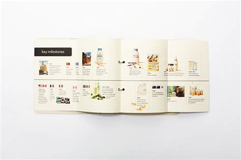 brand book layout design aveeno brand book trueblood studio