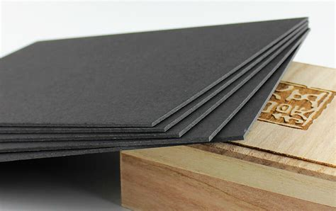 How To Make Paper Thicker - aliexpress buy 4 sheet 1 2mm thick black paper