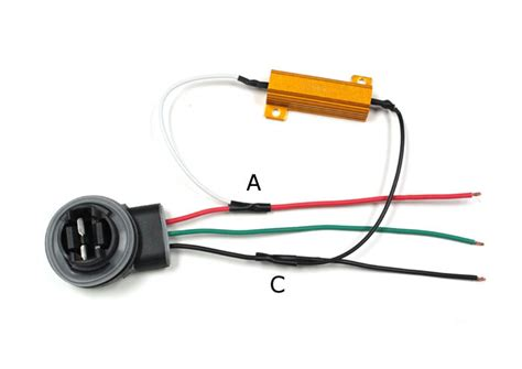 what resistor for led lights how to install led turn signal bulbs with load resistors