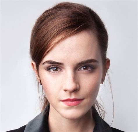 emma watson face shape emma watson interview actress talks about imposter syndrome