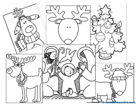 dibujos de navidad para colorear tamaño carta dibujos de navidad para colorear web del maestro