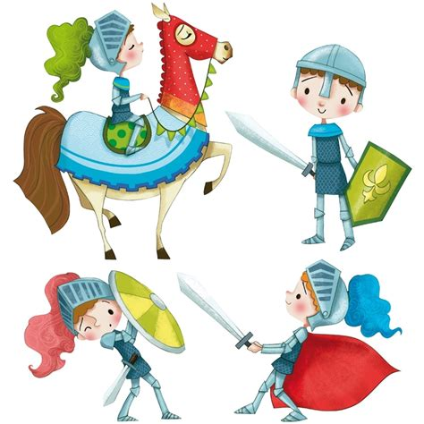 chambre enfant chevalier sticker enfant les chevaliers acte d 233 co
