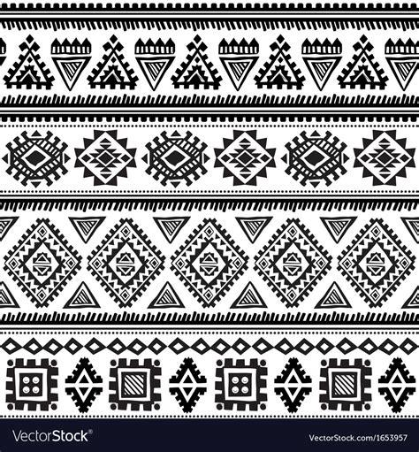 tribal ethnic pattern tribal vintage ethnic pattern seamless vector art