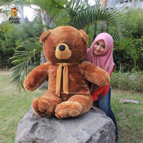 Boneka Teddy Coklat Besar jual boneka beruang teddy besar jumbo coklat fast n cheap