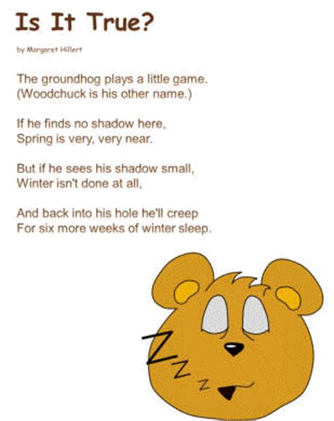 groundhog day poem is it true poem