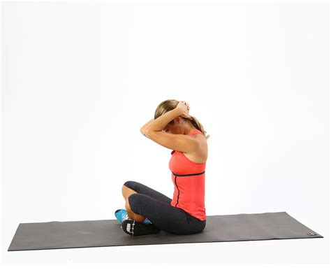 Desk Stretches For Neck And Shoulders by