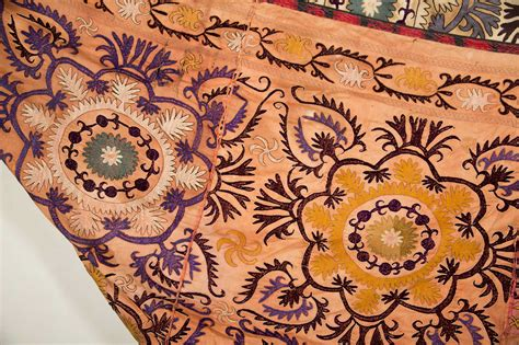 suzani coverlet suzani embroidered coverlet
